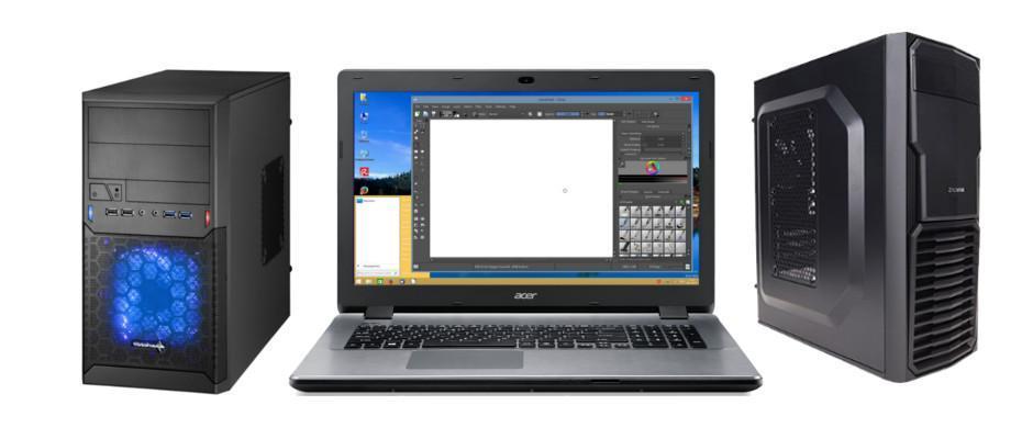 Levering nieuwe PC's en laptops
